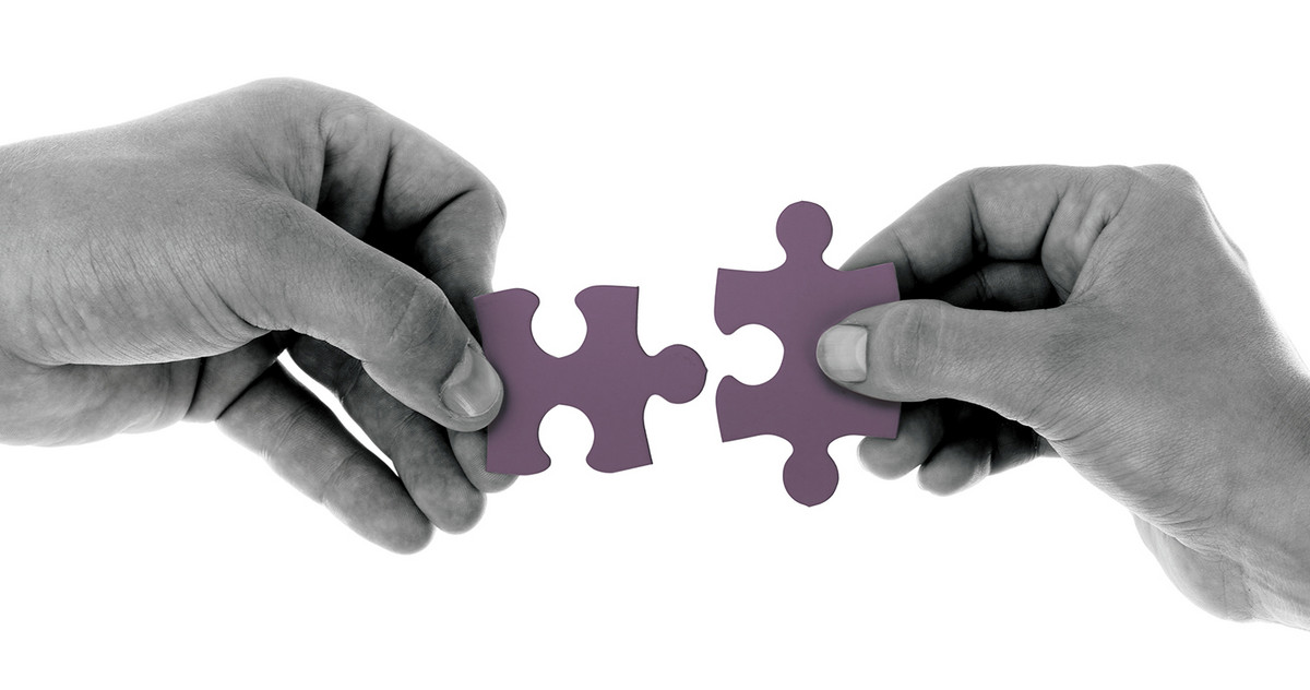 Picture of two puzzle pieces
