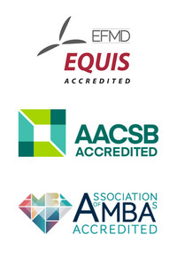 Logos of the accreditations