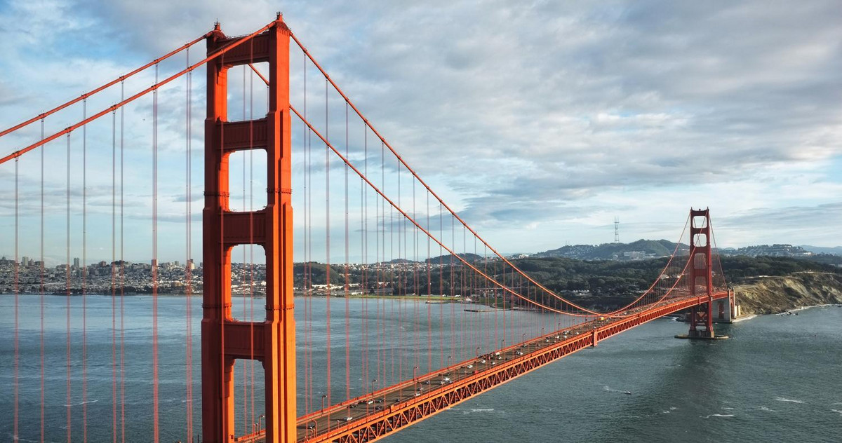 Bild der Golden Gate Bridge