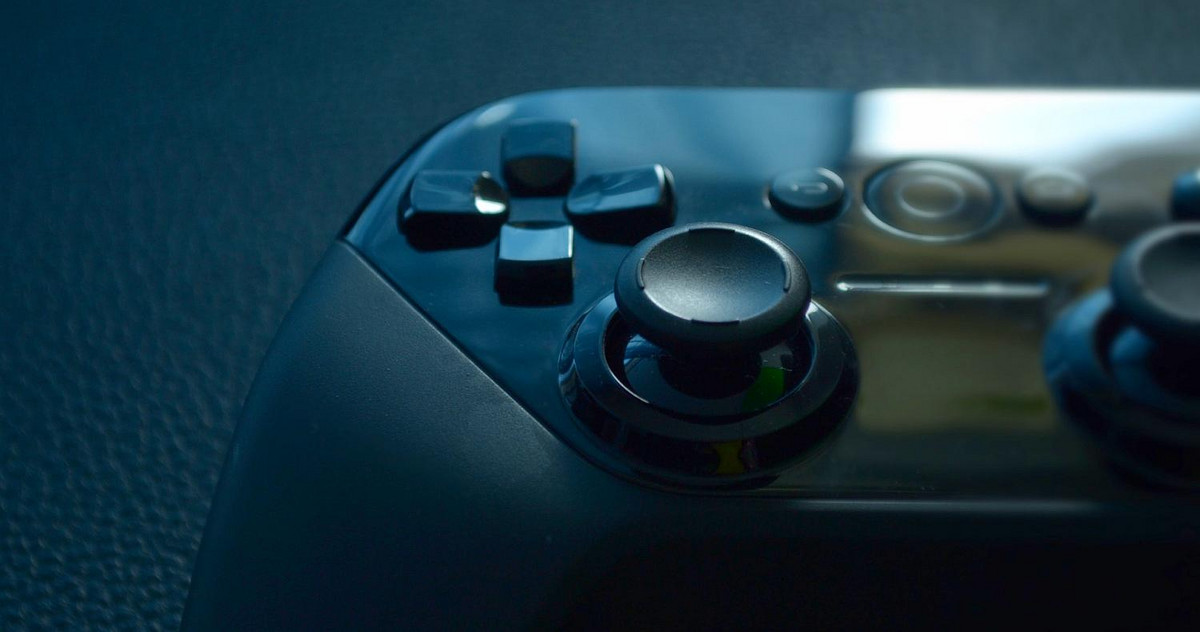 Picture of a gaming console controller