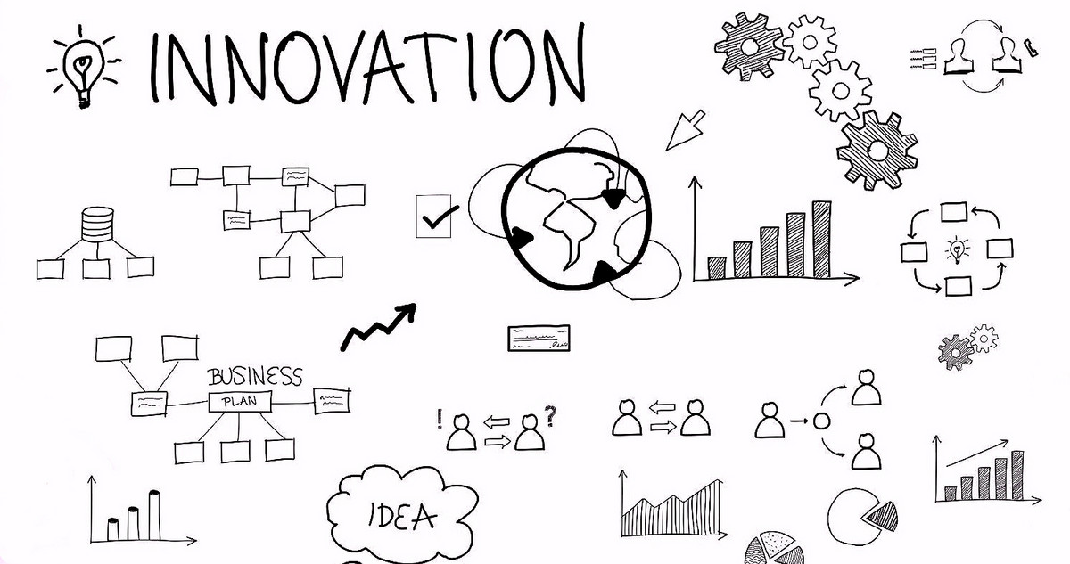 Graphical illustration of innovation processes
