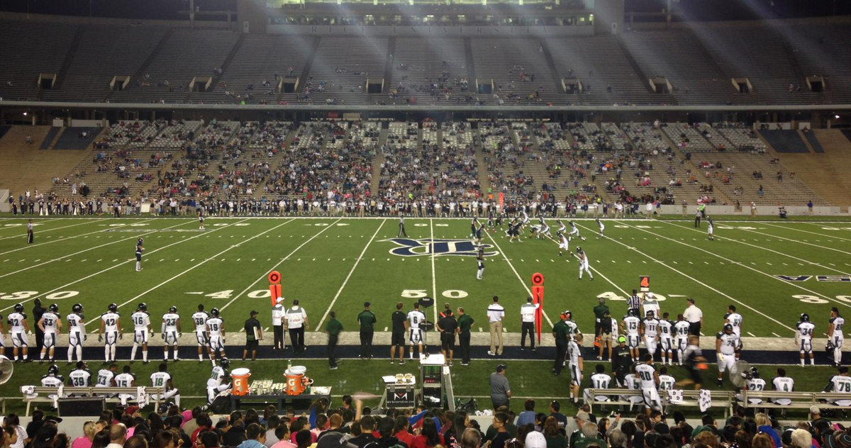 Bild des Rice Stadions in Houston
