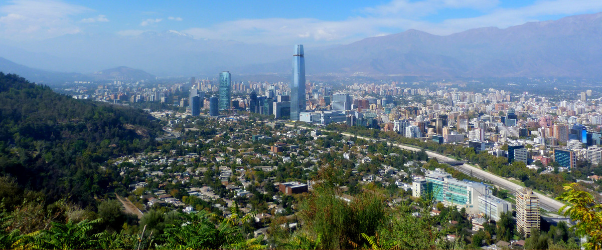 Picture of Santiago in Chile