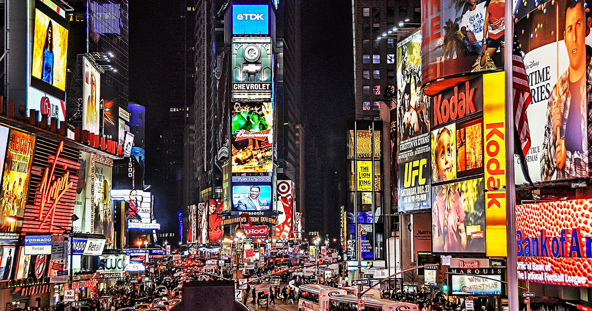 Picture of the New York Times Square