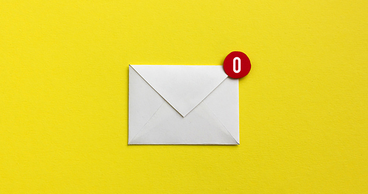 Picture of an envelope as a symbol for how to keep your inbox clean after business executives university