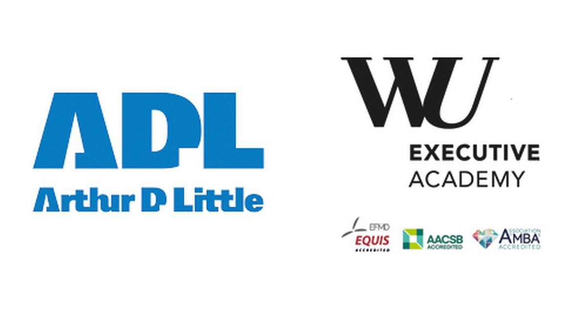 Logos Arthur D. Little and WU Executive Academy