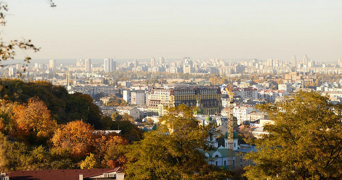 Panorama picture of Kiev